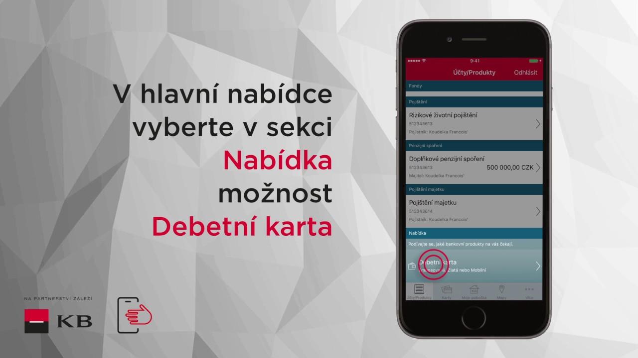 Mobilni Banka Debetni Karta Pro Ios Youtube