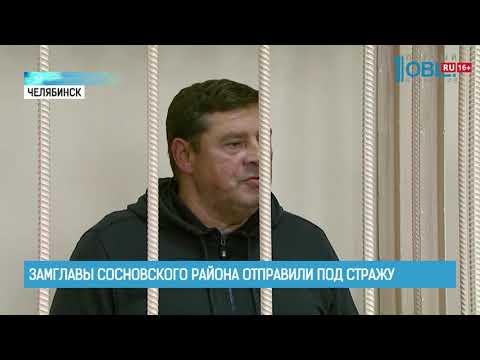 Замглавы Сосновского района отправили под стражу
