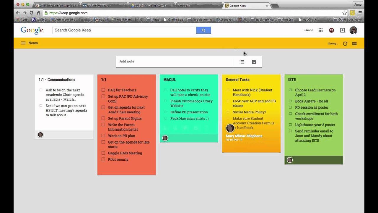 Google Keep Chrome Extensions Tutorial