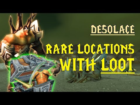 WoW Classic - Rare Mob Locations + UNIQUE LOOT - Desolace
