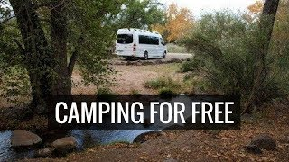 How To Camp for Free: Dispersed Camping with Campskunk