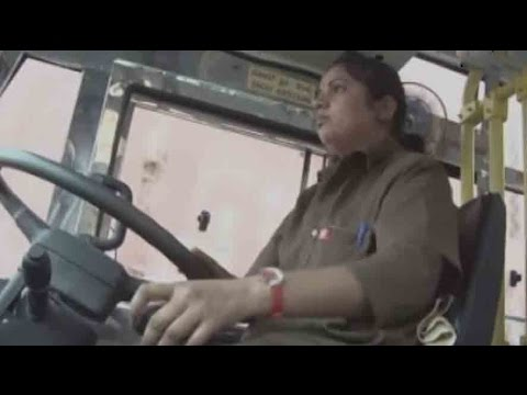 Breaking stereotype: State transport Corp. gets 1st female driver