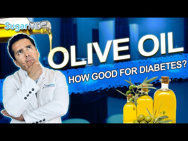 Eat this: Olive Oil Can Do Wonders For Diabetes! Here is How!
