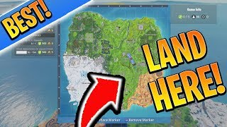 BEST OP Landing Location for EASY Wins! How to win in Fortnite Season 7! (Console Xbox/Ps4 Tips)