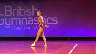 Olivia Goves – GOLD – FIG Senior Women – Aerobic Gymnastics 2017