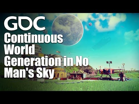 Continuous World Generation in No Man's Sky