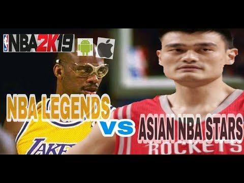 NBA LEGENDS VS. ASIAN NBA SUPERSTARS
