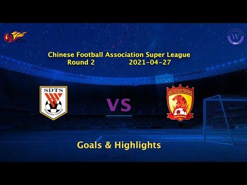 Shandong Taishan Guangzhou Evergrande Goals And Highlights
