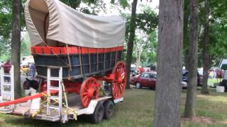 1800's Conestoga Covered Wagon