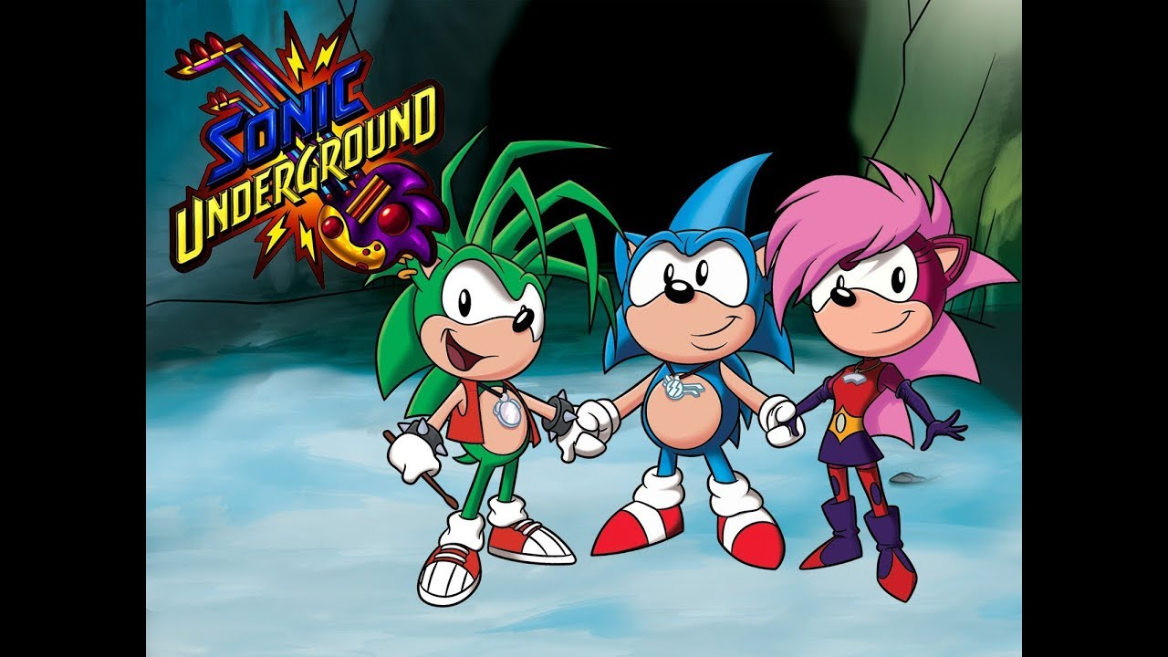 Sonic Underground Theme Song Hq 2019 Youtube
