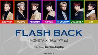 MONSTA X (?????) - Flash Back (Color Coded Kan/Rom/Eng/Esp Lyrics)