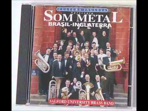 University of Salford Brass Band at the Sao Paulo Opera House 1996.