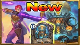Hearthstone: New Mecha'Thun Hunter OTK! | Rise of Shadows New Decks