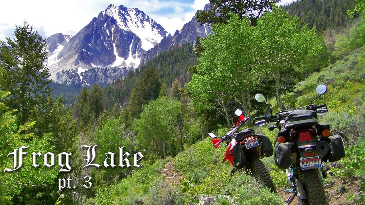 Frog Lake Pt  3 - White Clouds Motorcycle Trail in Idaho