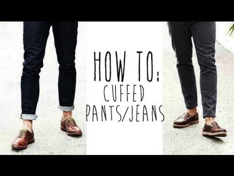 Shoes To Wear With Cuffed Jeans Mens