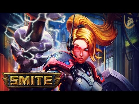 "SMITE: Athena, Support Gameplay - ""Peace Keeping"""