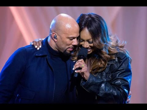 COMMON AND YOLANDA ADAMS PERFORMS AT WHITE HOUSE