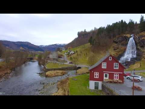 Norheimsund, NORWAY - SPRING 2017