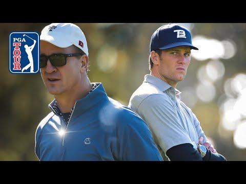 Best Tom Brady And Peyton Manning Golf Highlights