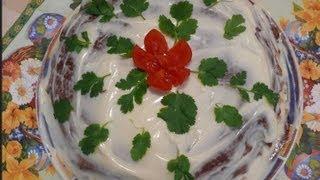 Рецепт - Печеночный торт от videokulinaria.ru
