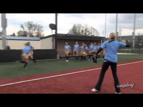 Catching on the Run Drill with Jennie Finch