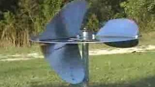 Vertical Axis Disk Wind Turbine