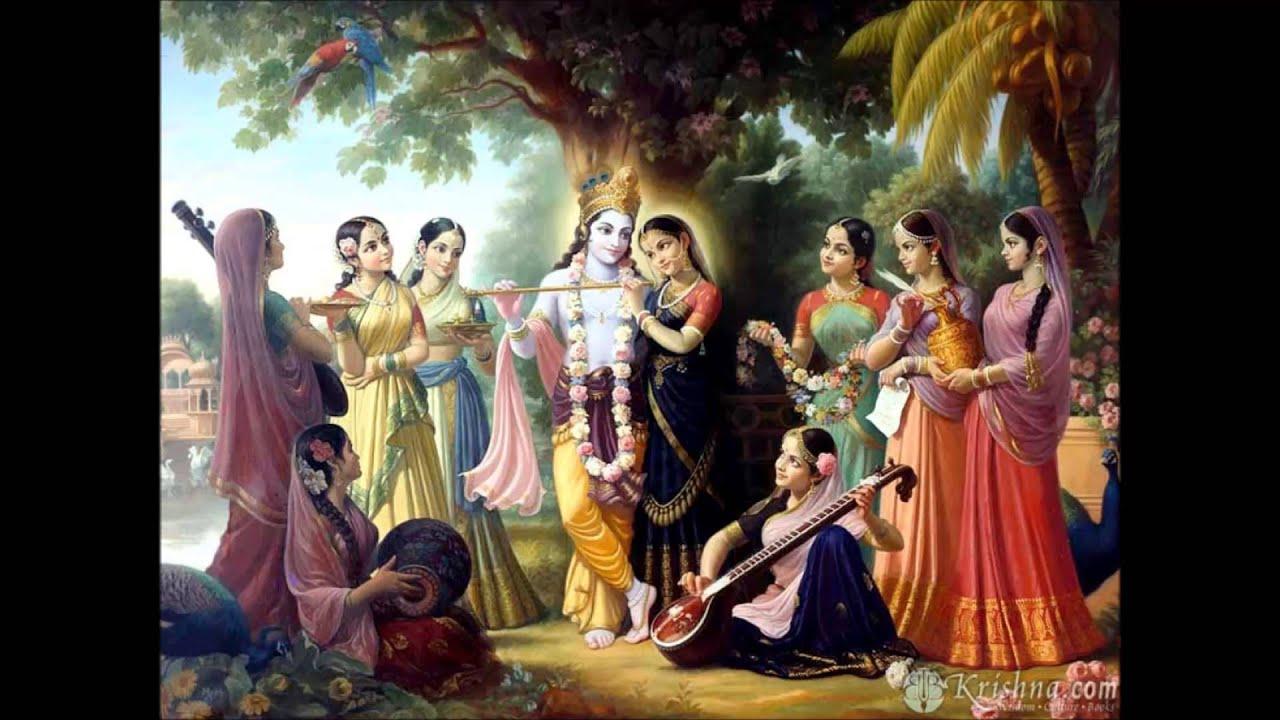 Lord Krishna Hd Wallpapers For Desktop Jaya Jaya Radha Krishna Yugala Milan By Sachinandan Prabhu