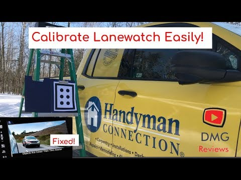 How to calibrate Honda LaneWatch camera or recalibrate easily and cheaply!