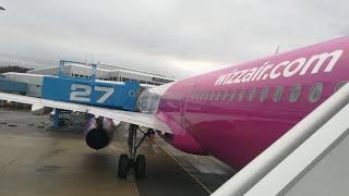 trip report    Bergen BGO - Vienna VIE    wizz air a321 (economy)