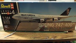 """Video Iron Maiden's """"Ed Force One"""" 747-400 by Revell models Unboxing download MP3, 3GP, MP4, WEBM, AVI, FLV Agustus 2018"""