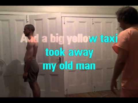 Karaoke - Yellow Taxi in the style of Joni Mitchell