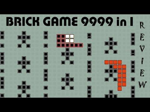 Un vistazo al Brick Game 9999 in 1 | Review