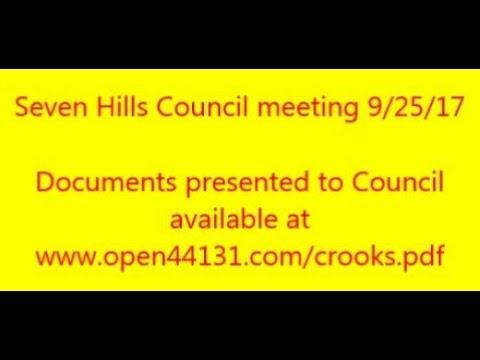 Seven Hills Council illegally gave public funds to Matt Trafis