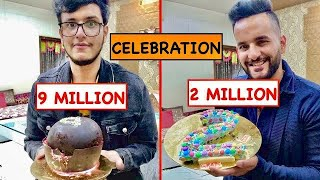 @Triggered Insaan 9 MILLION + @Fukra Insaan 2 MILLION Celebrations !! PAWRY TIMEEE