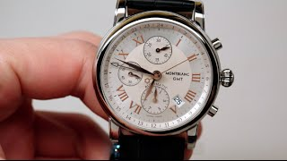 Montblanc Star Chronograph GMT Men's Watch Review Model: 36967