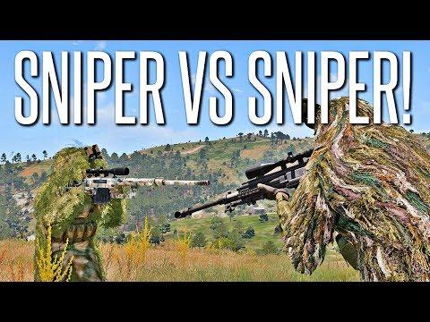 SNIPER VS SNIPER SQUAD - ArmA 3 King Of The Hill