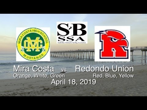 04-18-19 Mira Costa vs. Redondo Union Surfing (9min)