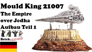 Mould King 21007 - The Empire Over Jedha - Aufbau Teil 1