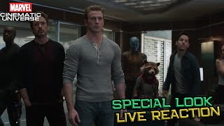 Avengers Endgame Special Look Live Reaction - Breakdown Channel Universe Live NOW