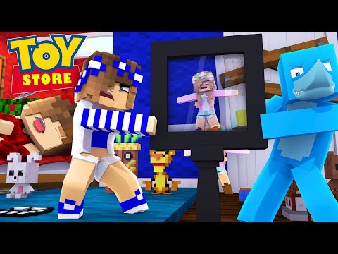 Minecraft TOYS - LITTLE KELLY HAS A NEW OWNER w/ Sharky and Little Carly