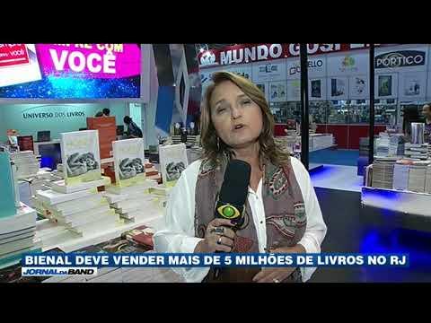 RJ: Bienal Deve Vender Mais De Cinco Milhões De Livros