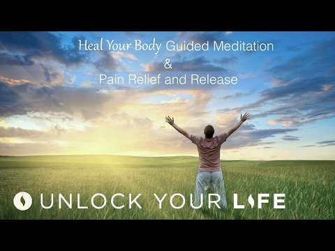 Heal Your Body Guided Meditation & Pain Relief Self-Healing Hypnosis   Ask Dis-ease To Leave