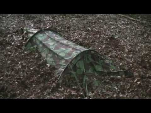 Special Forces Twin Hooped Bivvi (Bivi bag) Wild Camping / Bird Watching