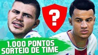 DESAFIO DOS 1.000 PONTOS COM SORTEIO DE TIME!