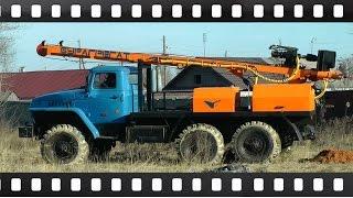 Буровая установка УРБ 2А2 на базе Урал-4320