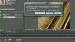 Adobe After Effects CS4  :  La file d