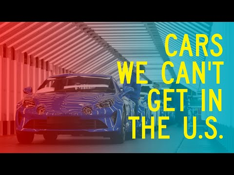 Cars We Can't Get in the U.S.: Window Shop with Car and Driver