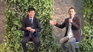 加藤峻二さん&今村豊選手トークショー☆2回目