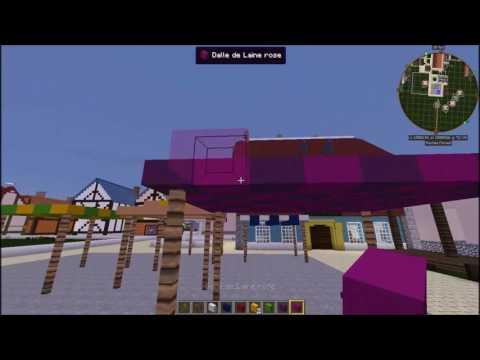 """""""Minecraft: Projet Fantasy et Contemporain le petit marché"""""""