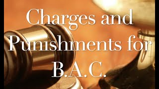 The Behan Law Group, P.L.L.C. Video - Charges and Punishments for BAC DUI